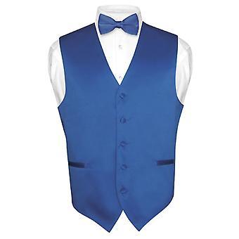 Mænds Dress Vest & Butterfly Solid Butterfly sæt for jakkesæt eller smoking