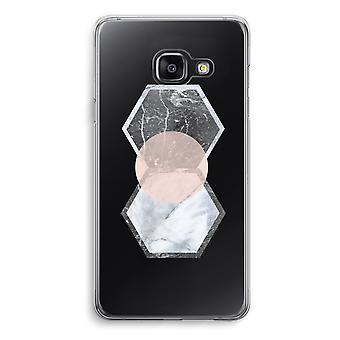 Samsung A3 (2017) Transparent Case (Soft) - Creative touch