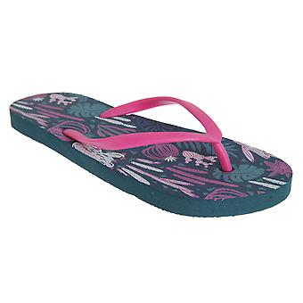 Sand Rocks Womens/Ladies Cacti Flip Flops