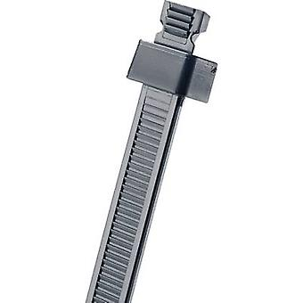 Cable tie 172 mm Black Hole mount Panduit SST2S-C0