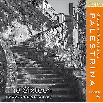 Palestrina / seksten / Christophers - Palestrina 6 [CD] USA import