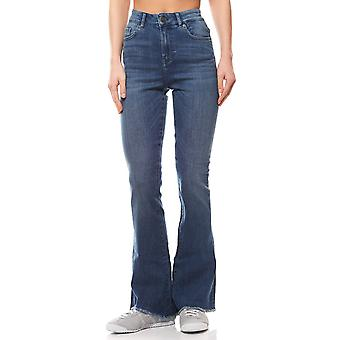 ADPT. California Bootcut women's Jeans Blau 5-Pocket style