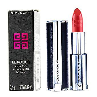 Givenchy Le Rouge Intense kleur Mat sensueel Lipstick - achter de schermen # 324-Corail - 3.4g/0.12oz