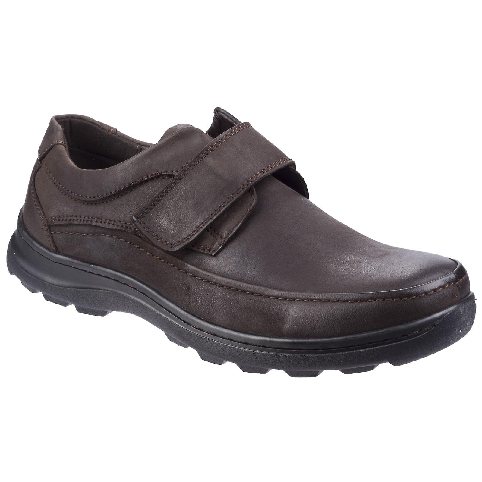 Fleet & Foster Mens Hurghada Leather chaussures