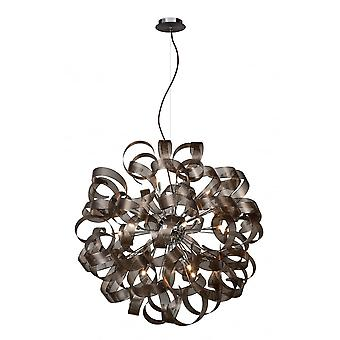 Lucide ATOMA Pendant 80cm 12xG9excl Rust