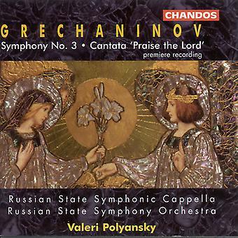 A. Grechaninov - Grechaninov: Sinfonía nº 3; Cantata 'Alabanza el Señor' importación de Estados Unidos [CD]