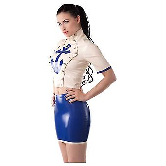 Westward Bound Sultry Sailor Latex Rubber Top