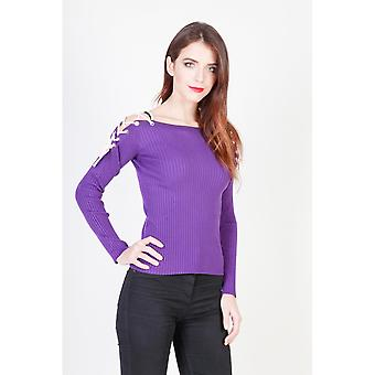 Pinko 1G12N7 Violet Sweater-Y3LL woman fall/winter