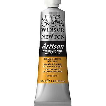 Winsor & Newton Artisan vatten blandbart olja färg 37ml (115 kadmium gul djup nyans S1)