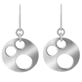 Orphelia Silver 925 Drop Earring Modern Cir  ZO-5652