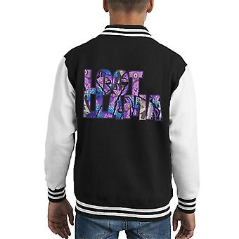Fortnite Beute Lama Text ausschneiden Kid es Varsity Jacket