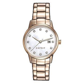 ESPRIT damer watch armband watch Blake rostfritt stål Rosé ES100S62011