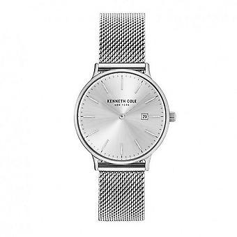 Muñeca reloj analógico de cuarzo de acero inoxidable Kenneth Cole New York mujeres KC15057007