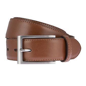 LLOYD Men's Belts Gürtel Herrengürtel Ledergürtel Cognac 6618