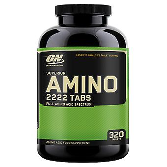 Optimum Nutrition Superior Amino 2222 320 tablets (Sport , Muscle mass , Amino acids)