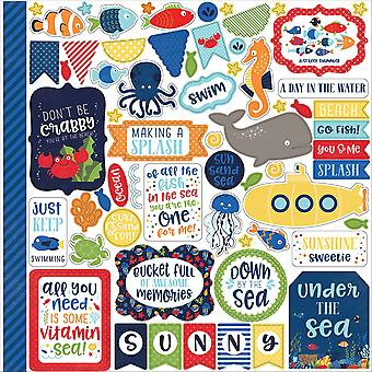 Under The Sea Cardstock Stickers 12
