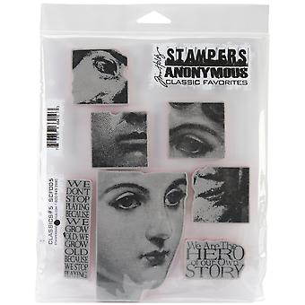 Stampers anonieme Cling Stamps 7