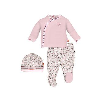Magnificent Baby Magnetic Me™ Baby Girl 3-Piece Kimono Set