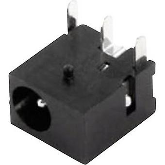 econ connect DC8J13 Low power connector Socket, horizontal mount 1.3 mm 1 pc(s)