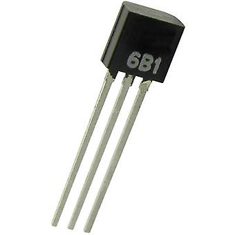B+B Thermo-Technik TSIC506-TO92 Temperature sensor -10 up to +60 °C TO-92 Radial lead
