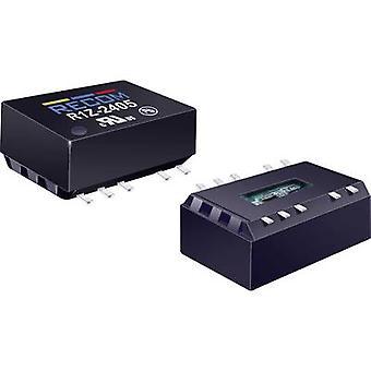 RECOM R1Z-2405 DC/DC converter (SMD) 24 Vdc 5 Vdc 200 mA 1 W No. of outputs: 1 x