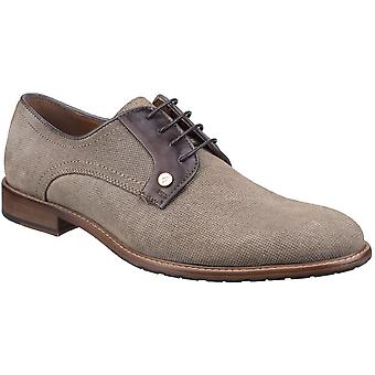 Gabicci Mens Morgan Derby Lightweight Suede Lace Up Shoes