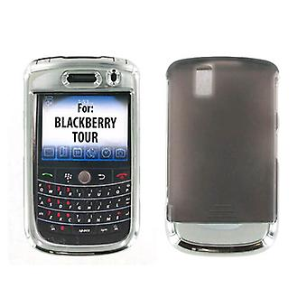 BlackBerry Tour 9630 Snap sur l'affaire - Chrome (emballage en vrac)