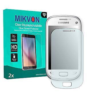 Samsung S5292 Rex 90 Screen Protector - Mikvon Clear (Retail Package with accessories)