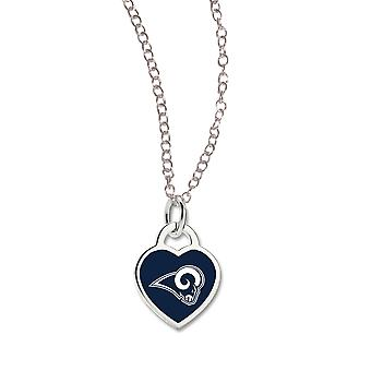 Wincraft dames Heart Necklace - NFL Los Angeles Rams