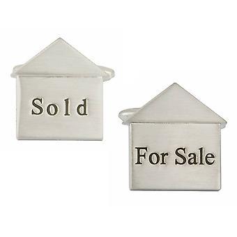 Zennor For Sale Sold Cufflinks - Silver
