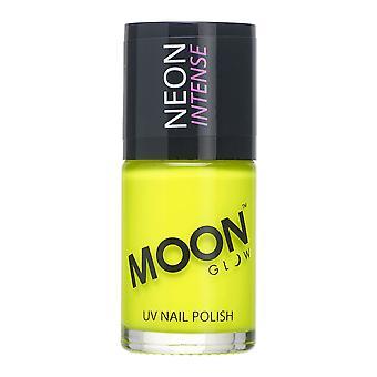 Moon Glow - 14ml Neon UV Nail Varnish - Intense Yellow