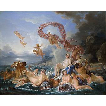 The Birth of Venus, Francois Boucher, 50x40cm