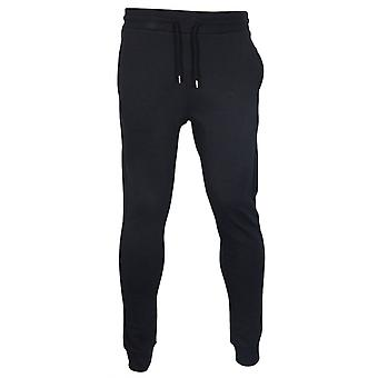 Moschino Cotton Black Tracksuit Bottoms
