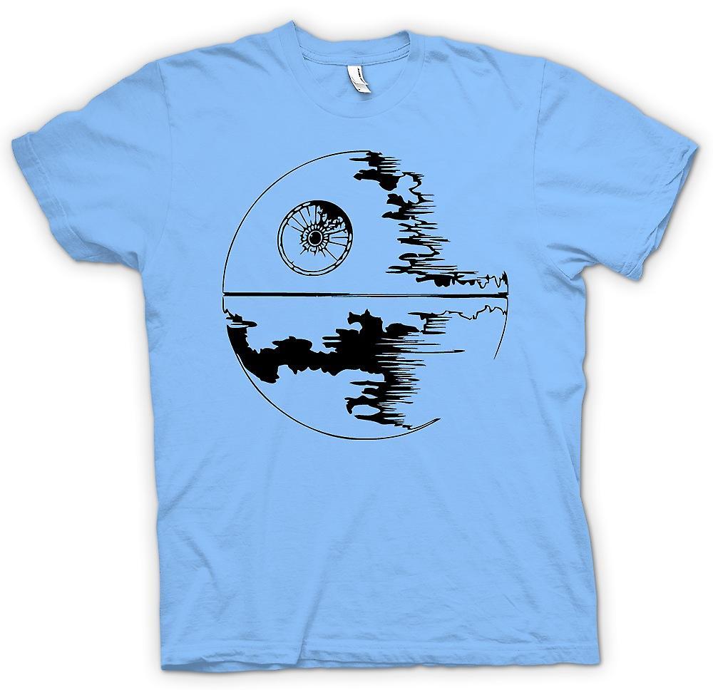 T-shirt des hommes - Death Star en construction