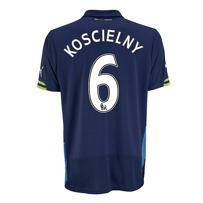 2014-15 Arsenal Third Cup Shirt (Koscielny 6)