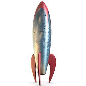 Rocket (Retro - Stylised) - Lifesize Cardboard Cutout / Standee