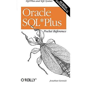 Oracle SQLPlus Pocket Reference (zak Referentie (O'Reilly))