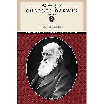 Las obras de Charles Darwin: diario de investigaciones PT. 1