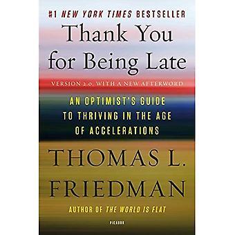 Je vous remercie pour le retard: Guide de l'optimiste à la prospérité à l'ère des accélérations