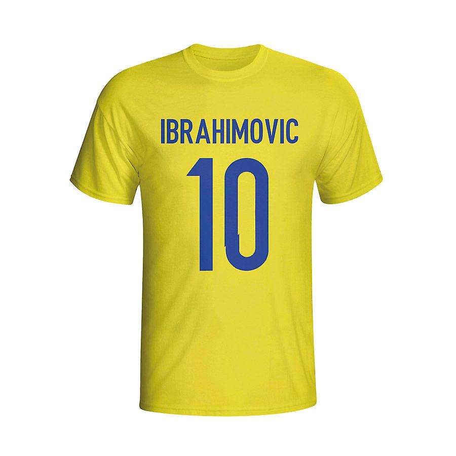 Zlatan Ibrahomovic Sweden Hero T-shirt (yellow) - Kids