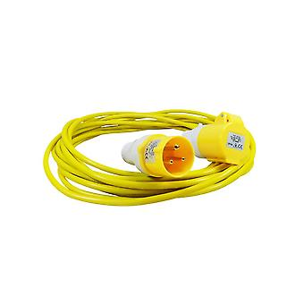 Spectre 10mtr 110v Extension Lead 1.5mm 16a with Plug&Coupling