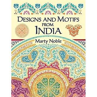 Diseños y motivos de la India (Dover ilustrado Archives)