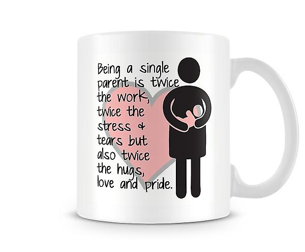 Being A Single Parent Mug