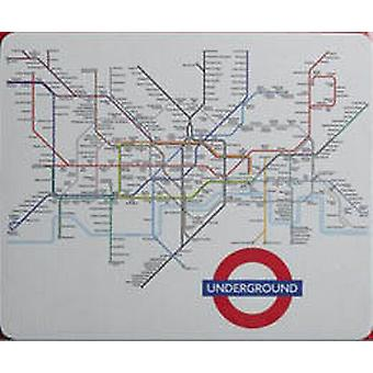 London Underground Map Mouse Mat  (ba)