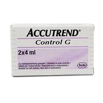 ACCUTREND G QC SOLUTION 1284878 2X4ML