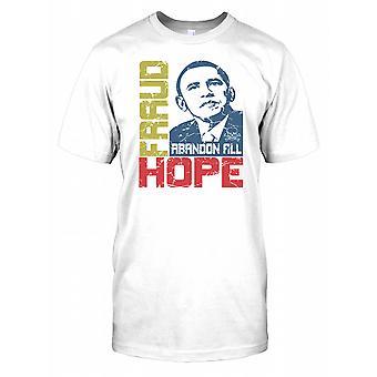 Fraud Abandon All Hope - President Obama - Conspiracy Kids T Shirt