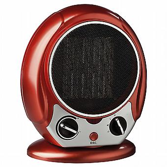 Ceramic heater with fan.