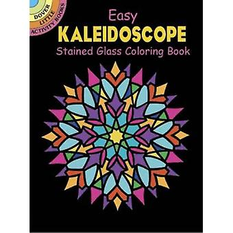 Easy Kaleidoscope Stained Glass Coloring Book by Albert G. Smith - 97