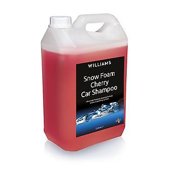 Schneeschaum Konzentrat 5L Cherry Auto Shampoo von Williams Racing