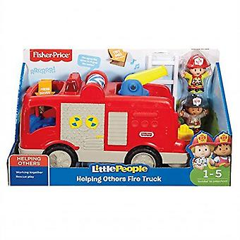 Fisher-price Little People Helping Others Fire Truck Toy